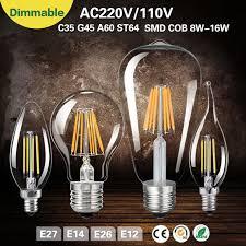aliexpress com buy incandescent light bulb led e14 bulbs e27