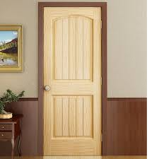 Solid Interior Door Kiby Colonial 2 Panel Solid Pine Slab Interior Door Reviews