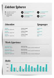 Visual Resume Examples Well Designed Resume Examples For Your Inspiration