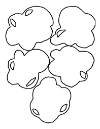 100 popcorn clip art black and white images