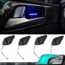 Led Light For Car Interior Car Interior Ambient Light Cup Holder Light Led Car Door Handle