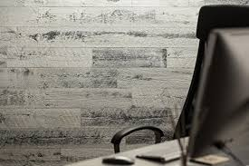 stikwood reclaimed weathered wood wall decal rustic white 40 sf