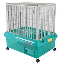 Indoor Hutches Abc Pet Plaza Plastic Rabbit Cage Rp 750 Green