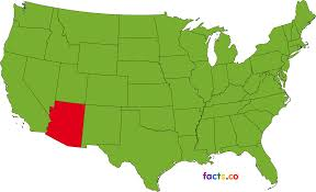 Map Of Cities In Arizona by Arizona Map Blank Political Arizona Map With Cities