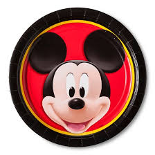 8 ct mickey mouse dinner plate target