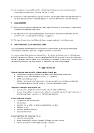 Inside Sales Resume Sample by Ministerial Supervision Guidelines Pcanz 2011