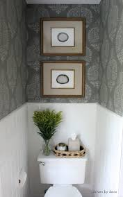 our stenciled bathroom budget makeover reveal chelsea gray