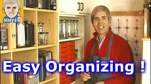 organizing hardware is the first step to organize the garage shop