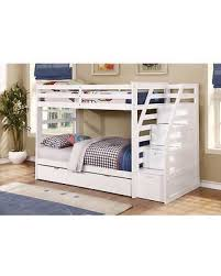 Bunk Beds Espresso Bargains On Bunk Bed With Trundle And Storage Steps