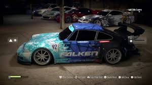 porsche falken porsche 911 carrera rsr falken paint job need for speed 2015