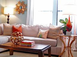 decorate a plain living room with cheap accessories inexpensive