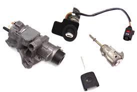 lock set key ignition housing door handle 01 05 vw passat b5 5