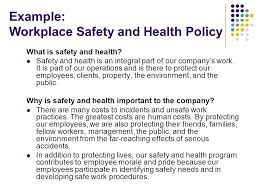 sample health and safety policy hr legal document template 4 hr