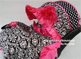 Pink Car Seat Canopy by Baby Car Seat Cover Canopy Infant Car Seat Cover Canopy Damask