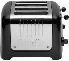Asda Toasters Buy Dualit Dl4b 4 Slice Toaster Black Free Delivery Currys