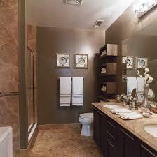 accessories excellent bathroom decoration using dark brown