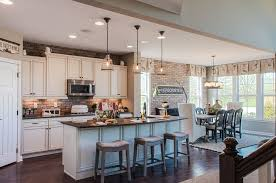 one wall kitchen with island traditional kitchen with high ceiling simple granite counters