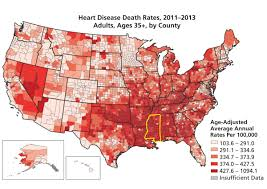 Map Of Ms Disease Strikes In The Heart Of Mississippi Discovermagazine Com