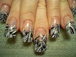 decorate your nails with french manicure art 06 nail and hair