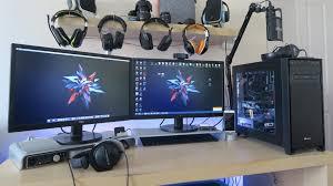 gaming setup ps4 my gaming setup custom pc retina macbook headsets xbox one