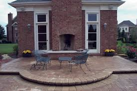 built in backyard fireplaces creative design ideas classy british