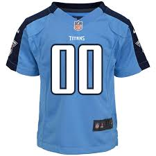 Nike Light Toddler Tennessee Titans Nike Light Blue Custom Alternate Jersey