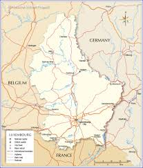 Map Of Belgium And Germany Map Of Luxembourg Nations Online Project