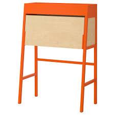 Small Bureau Desk by Ikea Ps 2014 Bureau Orange Birch Veneer Ikea