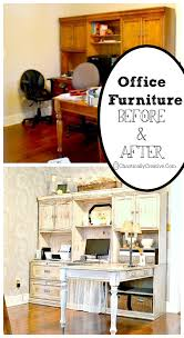 Repurposed Furniture Before And After by Office Furniture Refurbish Chaotically Creative