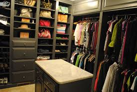 contemporary closet with marble countertop by karen viscito