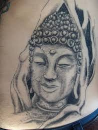 30 most incredible buddha head tattoos and designs