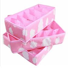 underwear organizer 3 in 1 storage boxes organizer for underwear bra folding closet