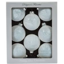 glass boxed ornaments