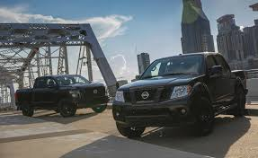 nissan armada blacked out 2018 nissan frontier midnight edition grille photos gallery