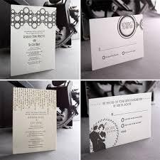 deco wedding invitations the classic sense of the deco wedding invitations