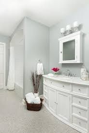 Blooming Green And White Shower Curtain Bathroom Traditional With Bathroom Fixtures Minneapolis