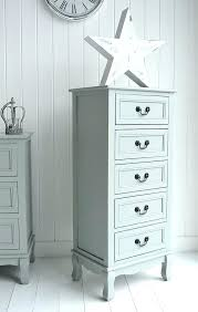 narrow cabinet with drawers skinny dresser tall narrow cabinet with drawers small chest of