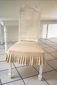 Skirted Dining Chair Miss Mustard Seed Dining Chair Slipcover Tutorial Seaside Ranch