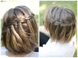 tutorial rambut waterfall braids for medium length hair hair world magazine