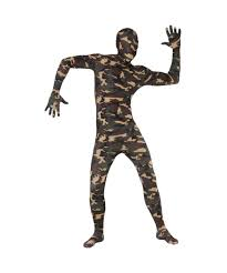 2nd skin halloween costumes camouflage second skin suit halloween costume costumes