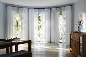 Curtains On Bay Window Bay Window Curtain Pole Ideas U2013 Small Details With Great Visual Appeal