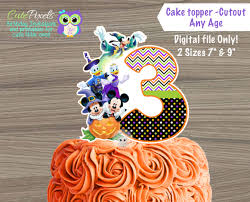 mickey mouse cake toppers mickey mouse centerpiece halloween
