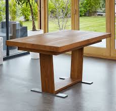 Dark Dining Table by Benson Dark Oak Furniture Extra Large Extending Dining Table