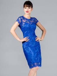 stunning lace evening dresses royal blue vintage lace cocktail