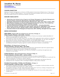 Pmo Sample Resume by 7 Manager Objective Resume Actor Resumed