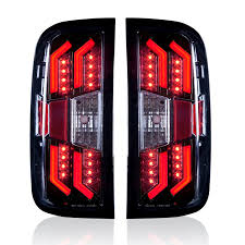 2004 silverado tail lights 2014 2017 chevrolet silverado tail lights gloss black clear