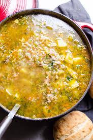 buckwheat soup with leftover turkey ifoodreal