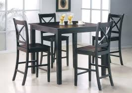 tall kitchen table and chairs black kitchen table and chairs image of bar height dining table