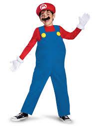 super mario bros mario deluxe toddler child costume