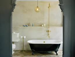 Glass Room Bathroom Chateau Marmont Levenson Mcdavid Architects Eclectic Bathroom New York By
